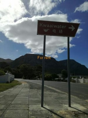 Situated on Main road but at Kwaaiwater seaside and walking distance to footpaths