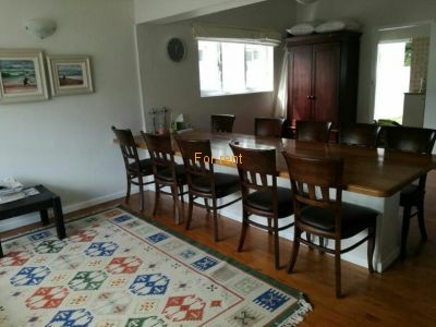Spacious open plan living/dining room area