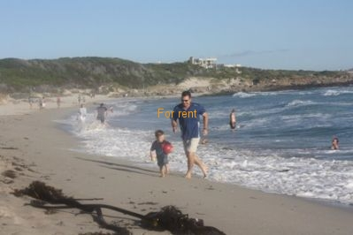 Onrus beach 2 min walk from house