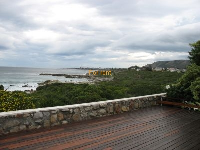 View towards Hermanus from deck